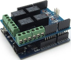 Arduino + Relay Shield